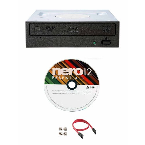 Pioneer BDR-209DBK 16X Blu-Ray CD DVD Bluray Internal Burner Drive + Nero Software + SATA Cable