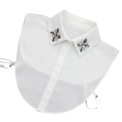 Elegant Women's Fake Half Shirt Blouse Collar Detachable Collar-A07