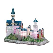 3D Puzzle with LED - Germany: Neuschwanstein Castle - Difficulty 6/8