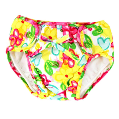 Reusable Swim Diaper Adjustable Absorbent Shower Diapers for Baby Toddler, A13