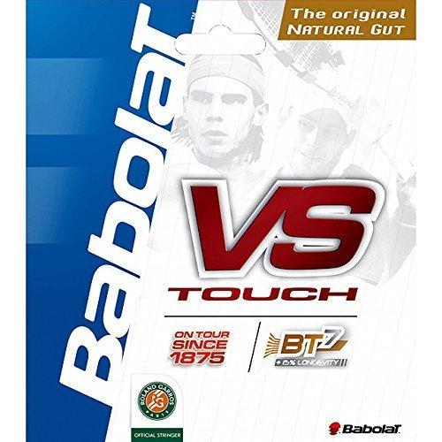 Babolat - Cordage Boyau Vs Touch - 12 M - Taille : 130/16