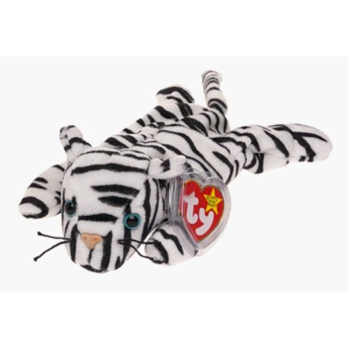 TY Beanie Baby - BLIZZARD the White Tiger on OnBuy 6c516cdafafe