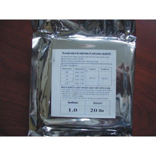 Dental Lab 20pcs Splint Thermoforming Material Vacuum Forming Hard by bestdental